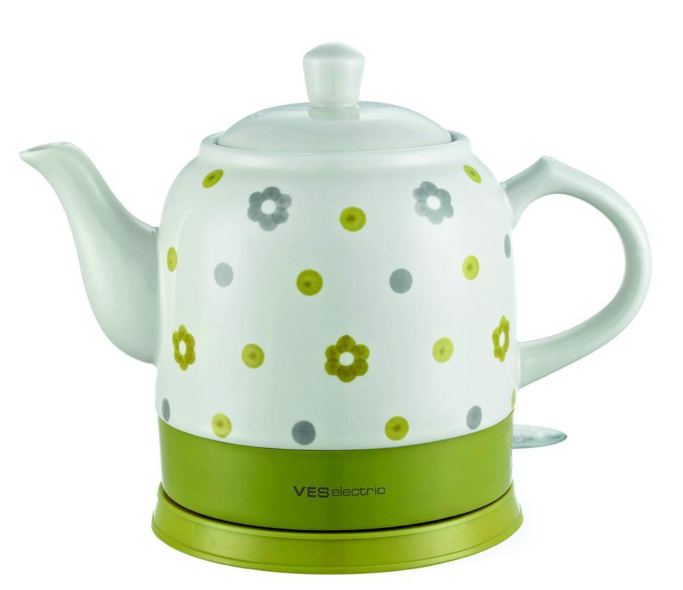 Керамический чайник классический