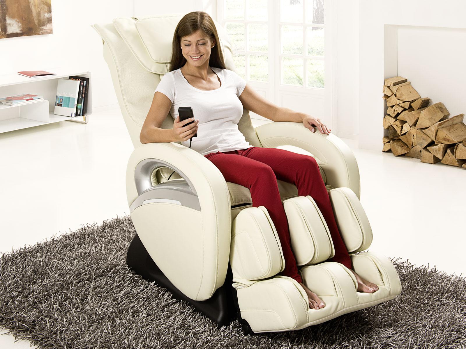 Массажное кресло с пультом