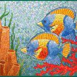 Фото 67: Мозаика из яичной скорлупы