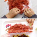 Фото 33: Аппликации с перьями