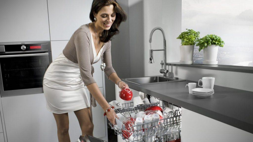 Посудомоечная машина на фото