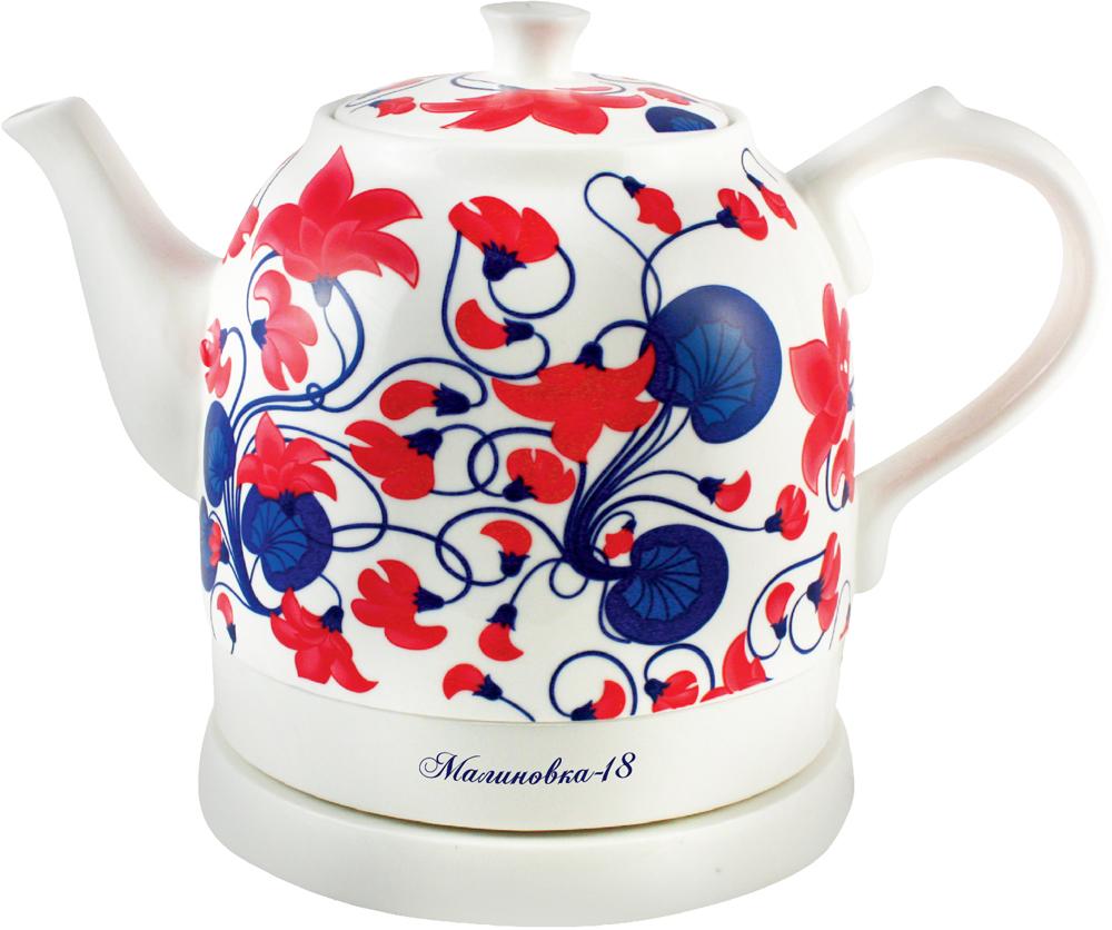 Керамический чайник с принтом