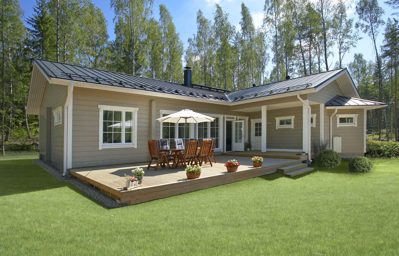 Финские дома из клееного бруса комфорт и крактичность