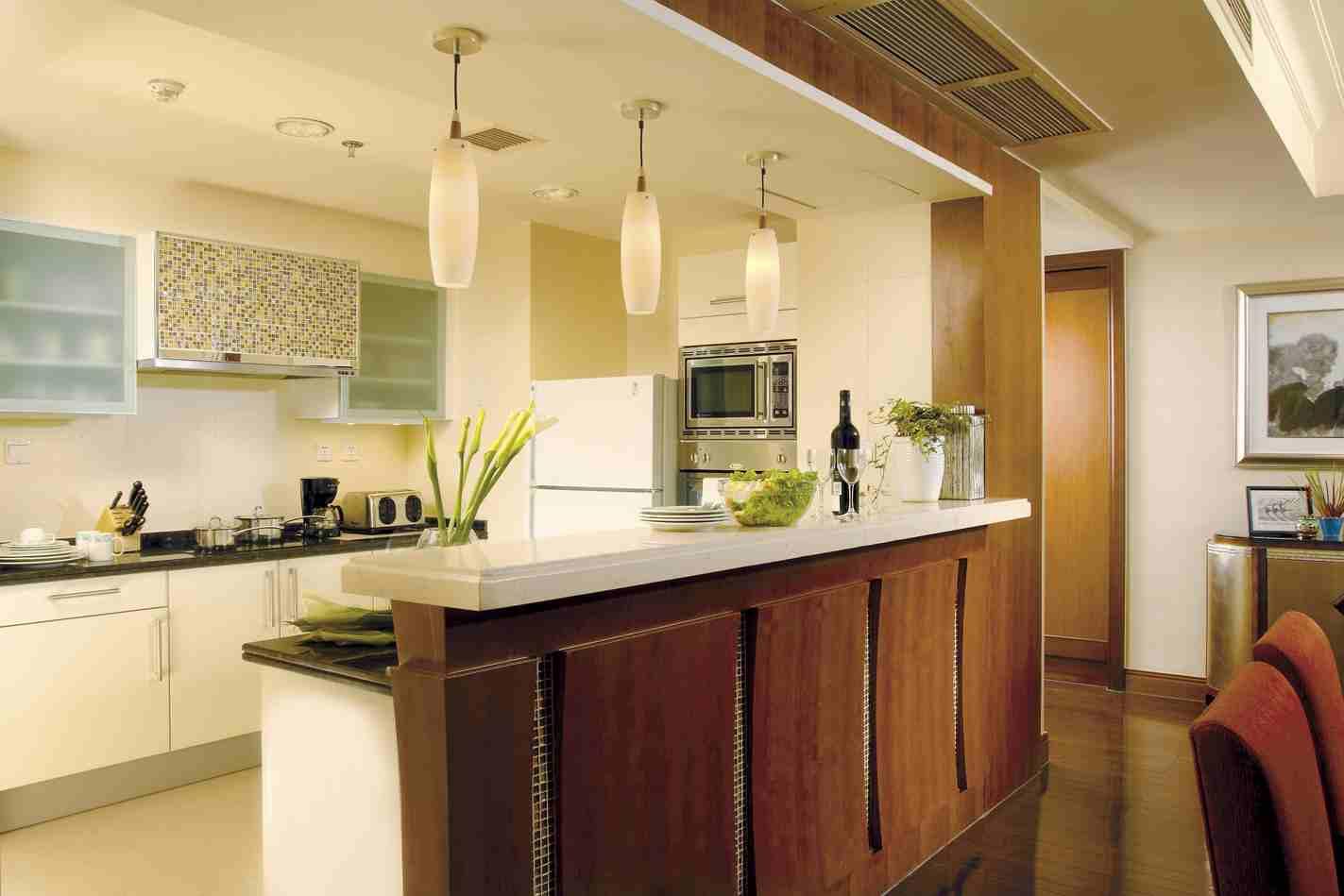 Планировка кухни зонирование