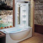 Фото 12: Душевая кабина с ванной