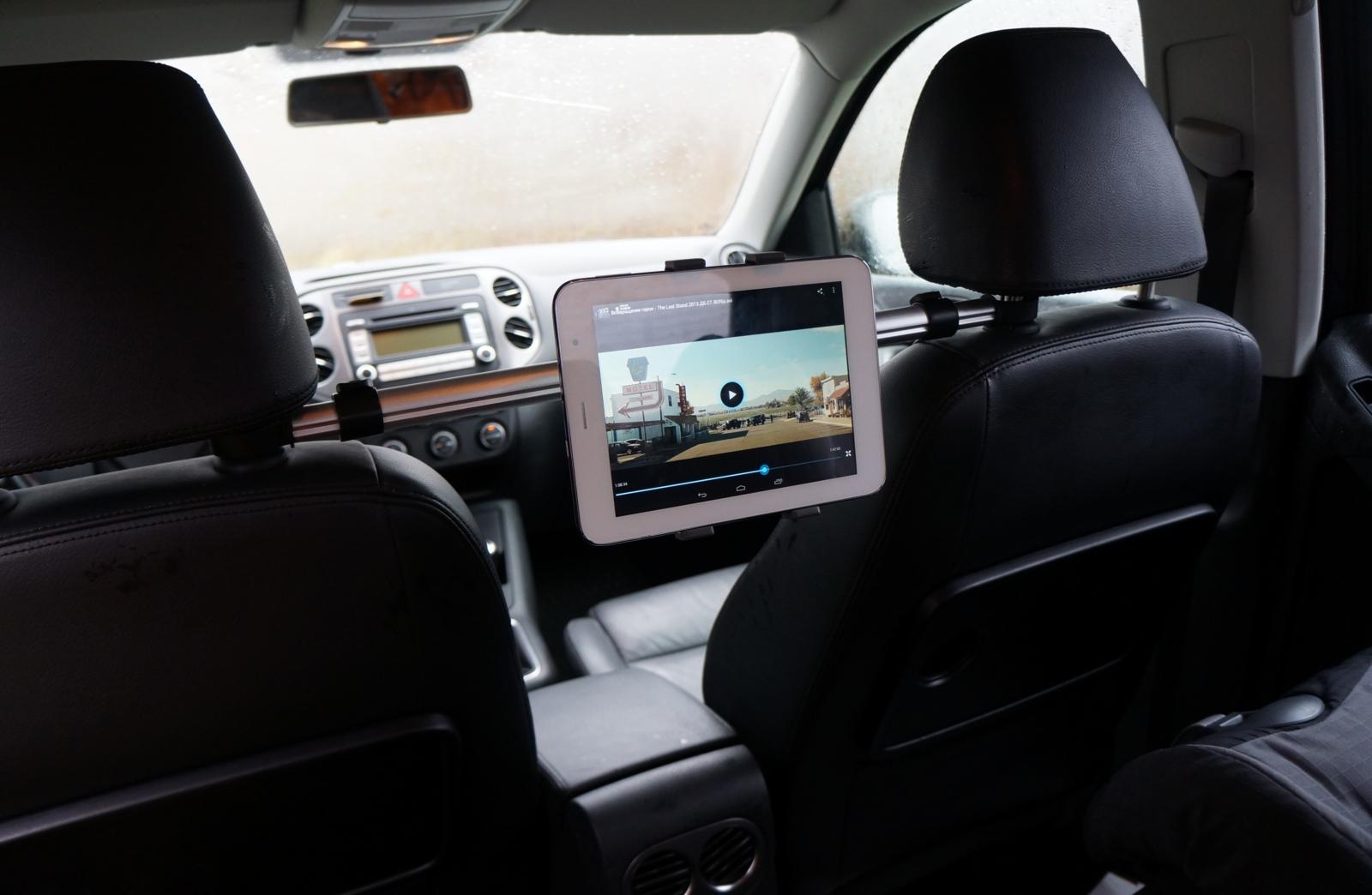 Держатель для планшета в машину на подголовник своими руками