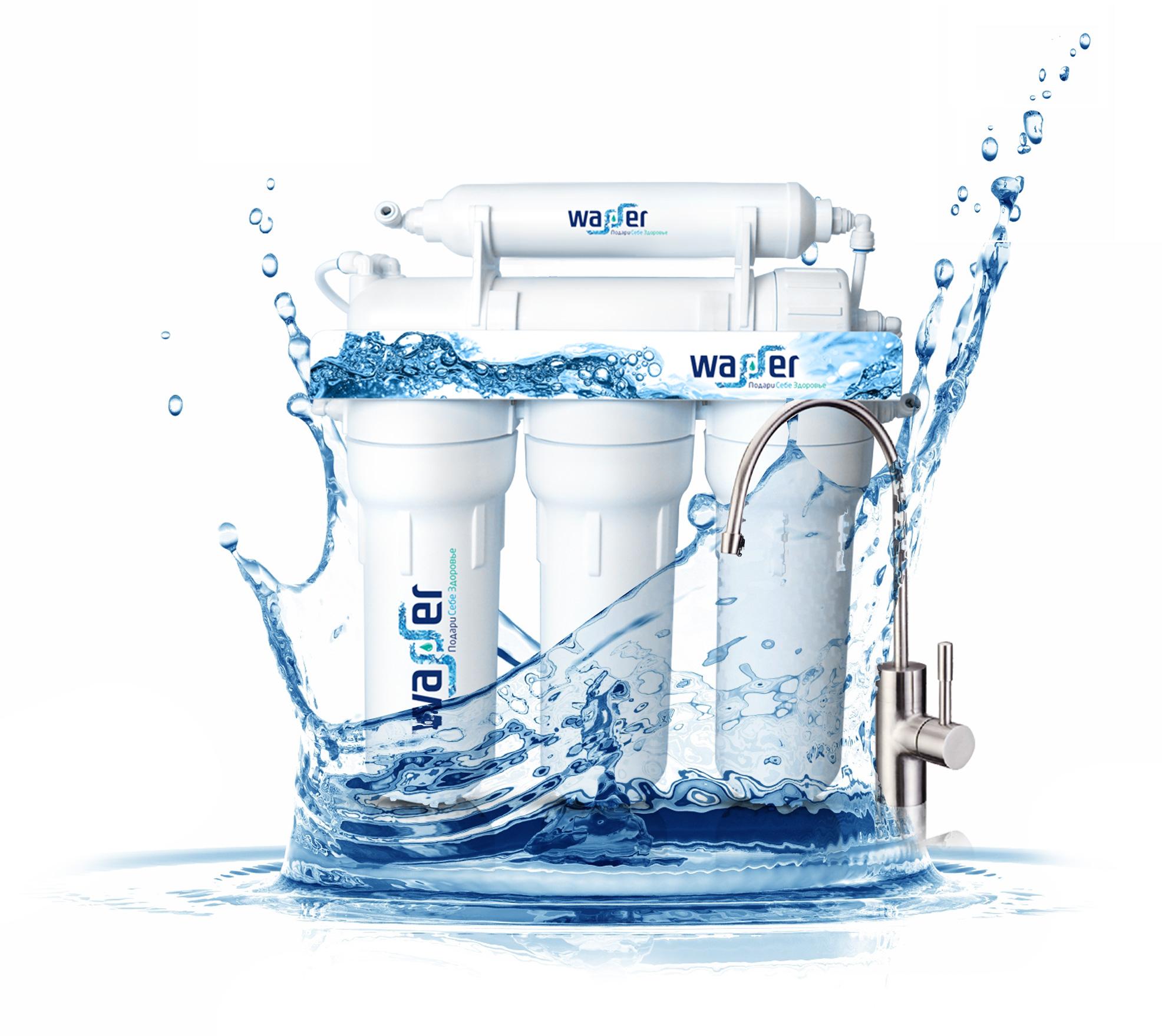 Очистка воды фильтром