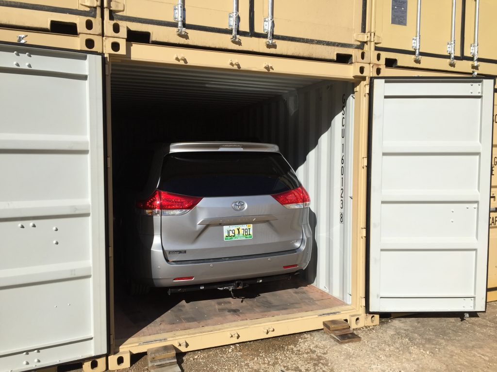 Контейнер под гараж