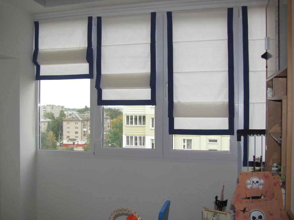 Римская штора своими руками с фото