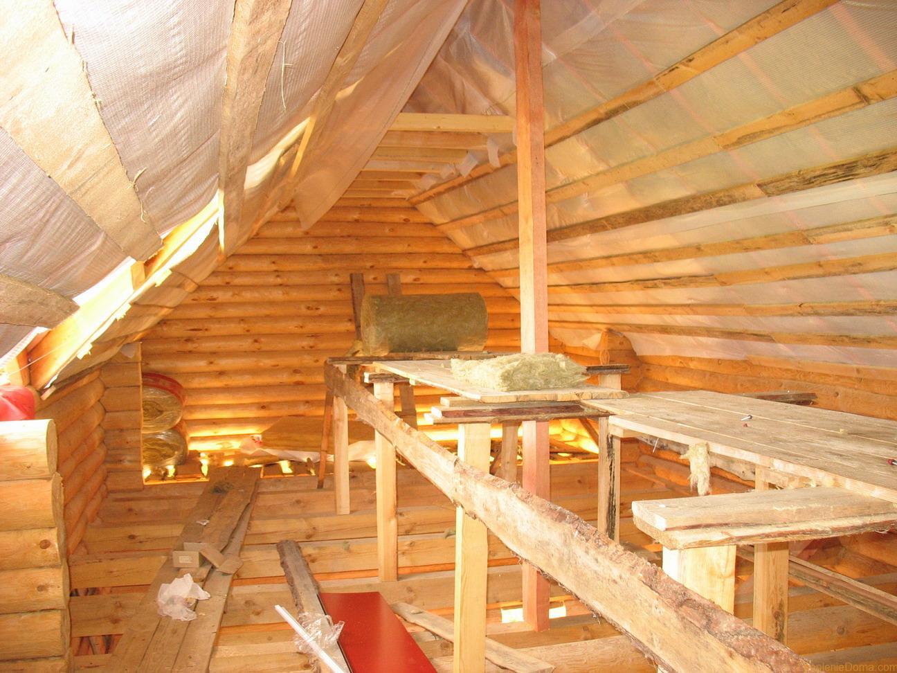Тёплая крыша своими руками 138