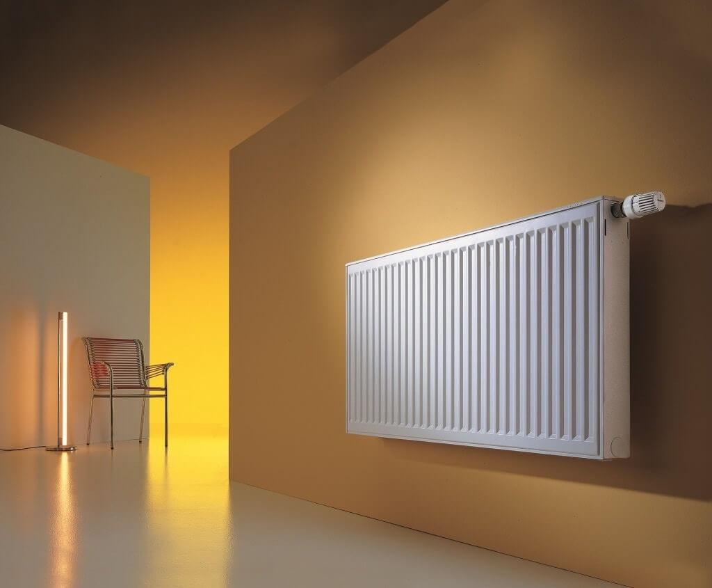 Отопление радиатором