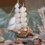 Фото 89: Кораблик из ракушек