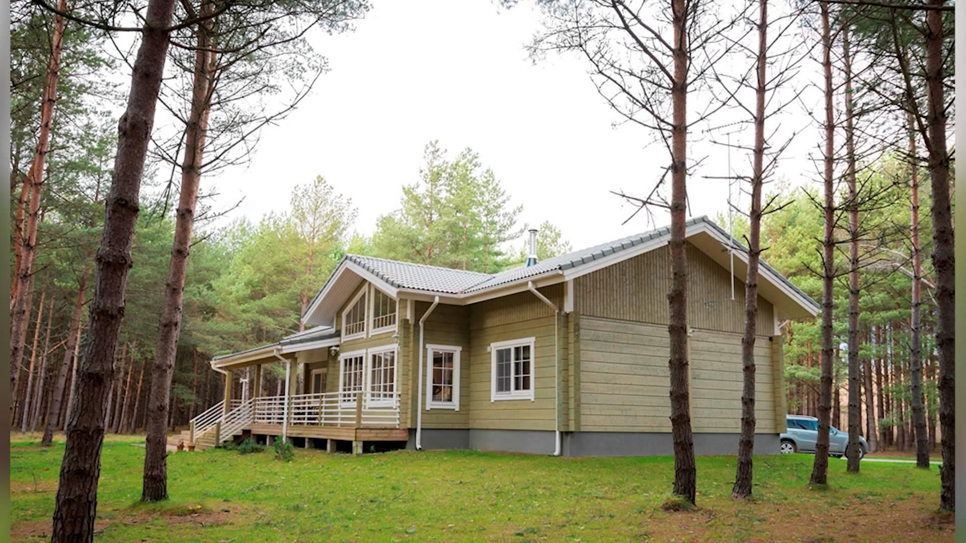 Финские дома из клееного бруса на участке
