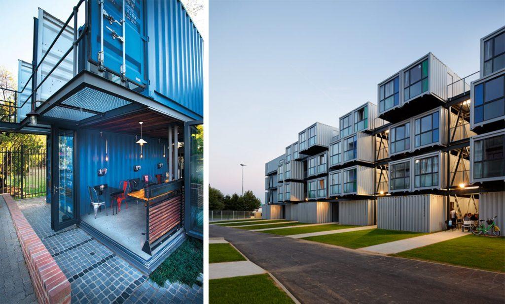 Модульные жилые дома