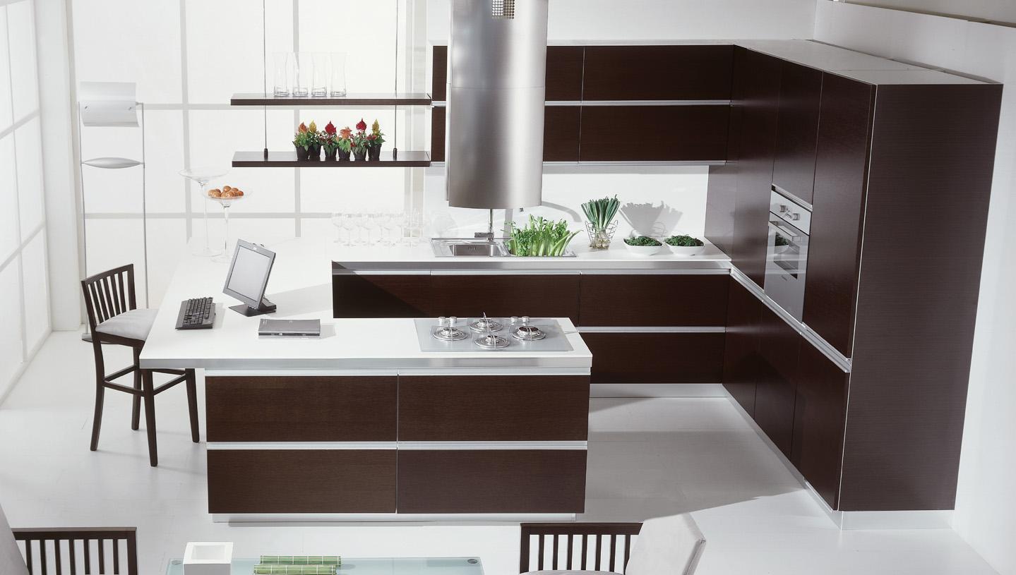 Планировка кухни современное