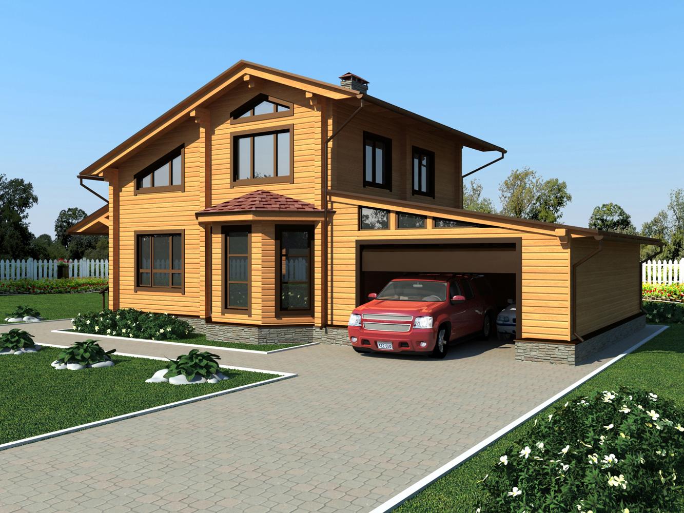 Финские дома из клееного бруса проект