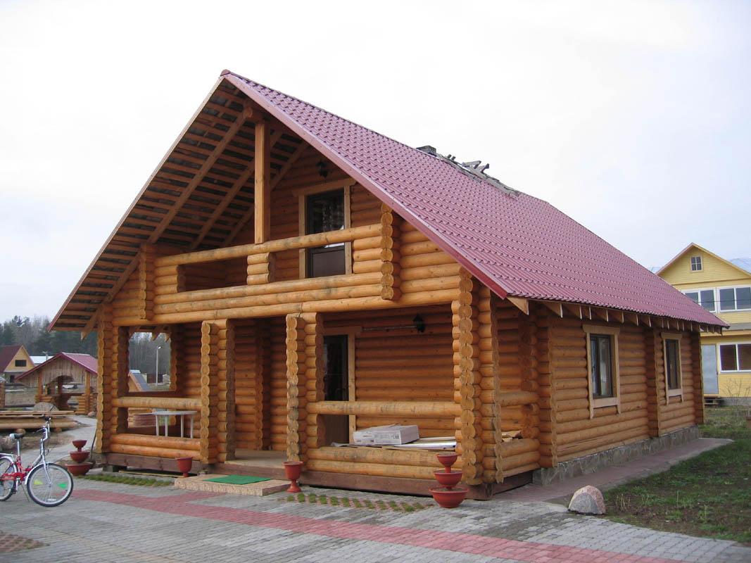 Дом с крышей