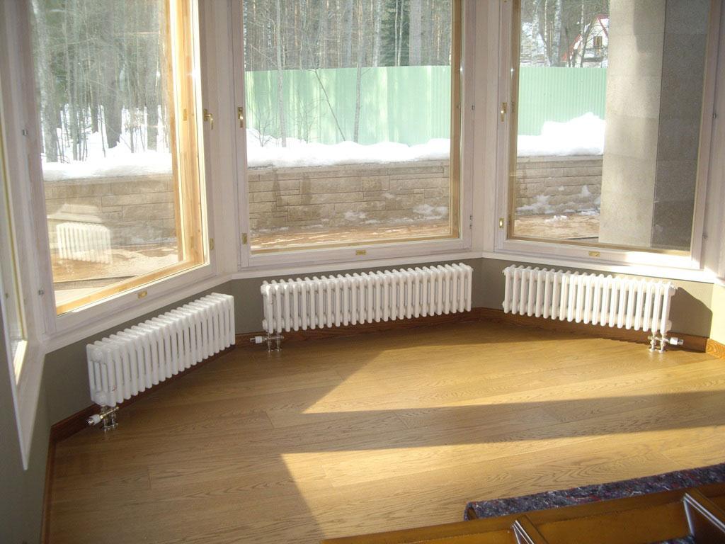 Готовые установленные радиаторы