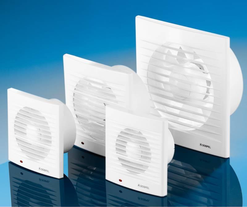 Вентиляторы для вытяжки в ванной
