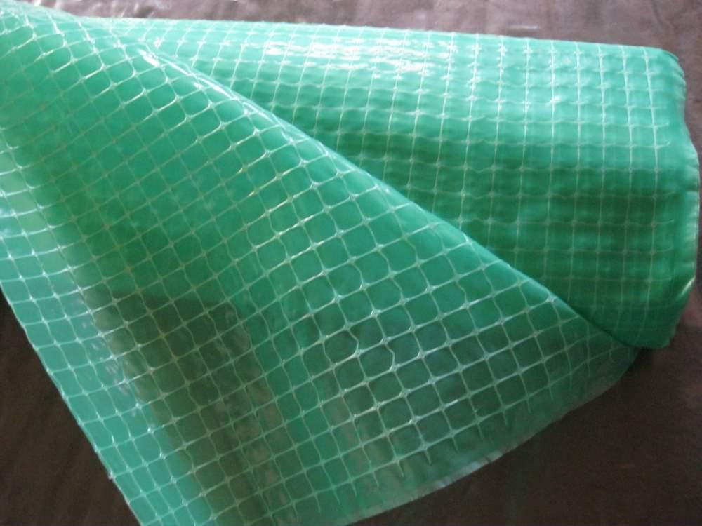 Зеленая армированная пленка