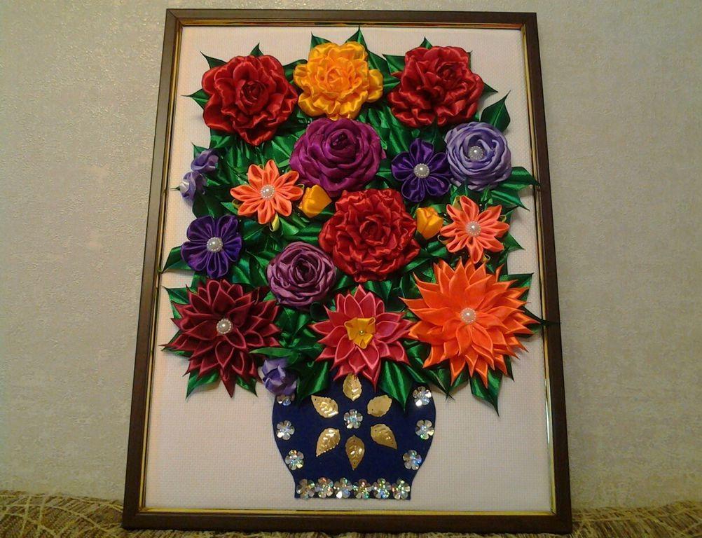 Фото пано своими руками цветы