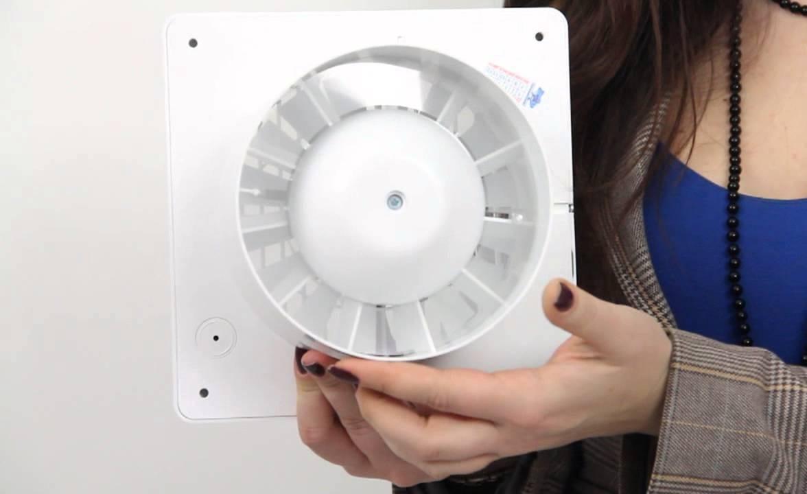 Осевой вентилятор для ванной комнаты