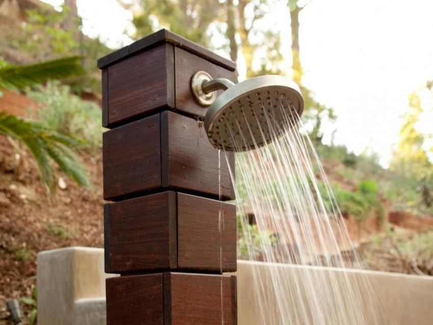 Солнечный водонагреватель наливной для дачи