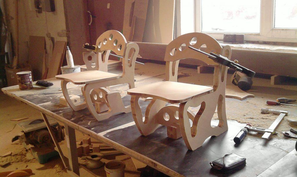 Столы и стулья своими руками фото
