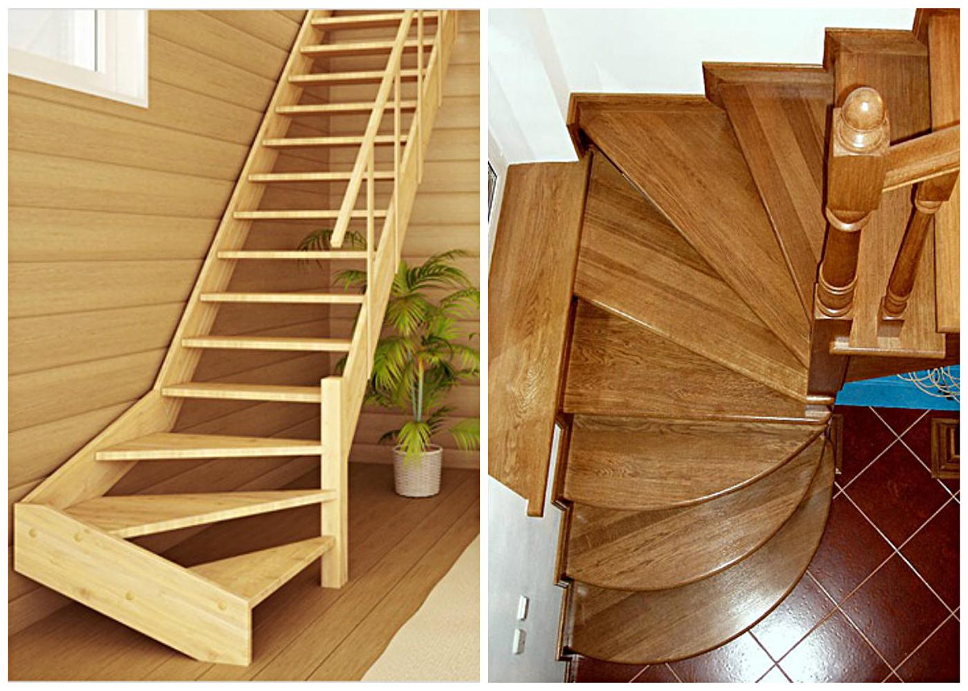 Забежная лестница своими руками 4936