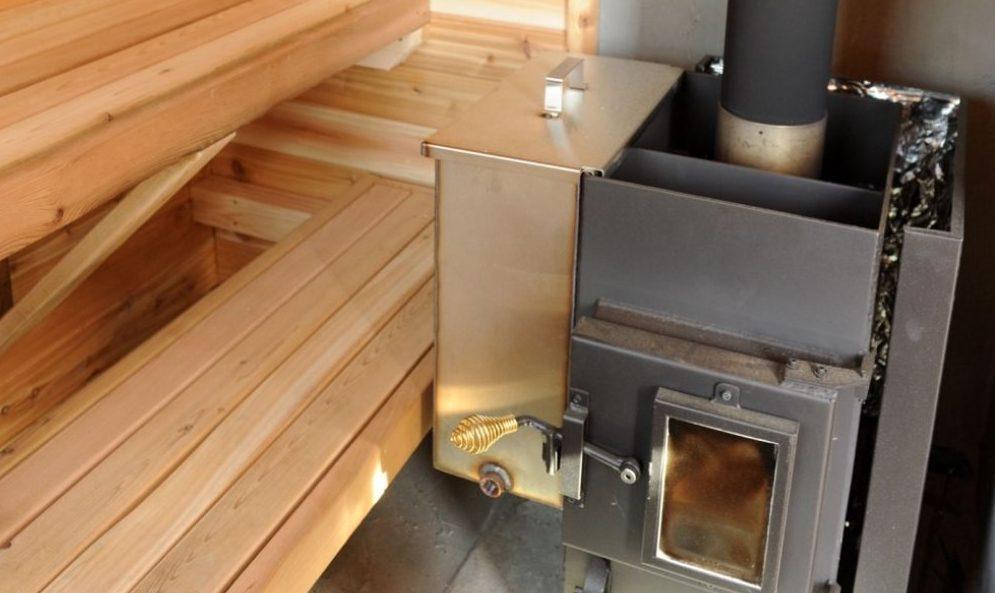 Самодельная Металлическая печь для бани своими руками