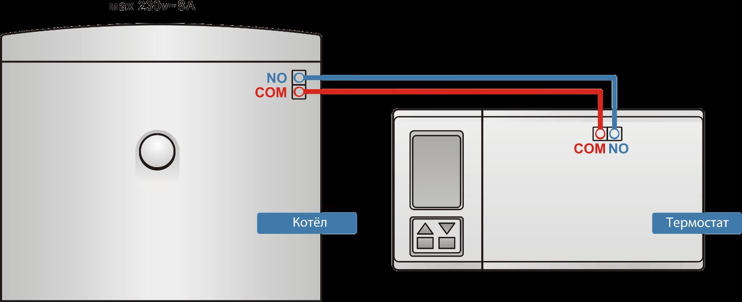 Схема термарегуляции