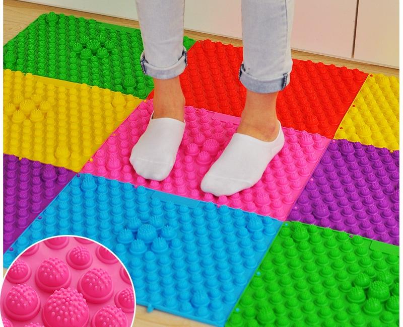 Массажные ортопедические коврики для ног детей