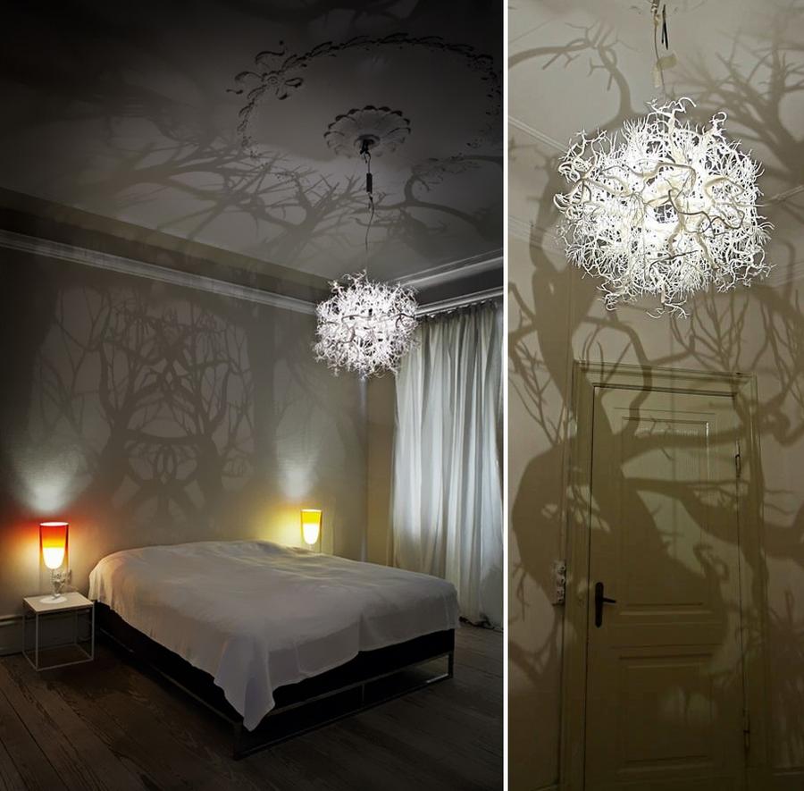 Светильник для спальни своими руками из подручных материалов 92