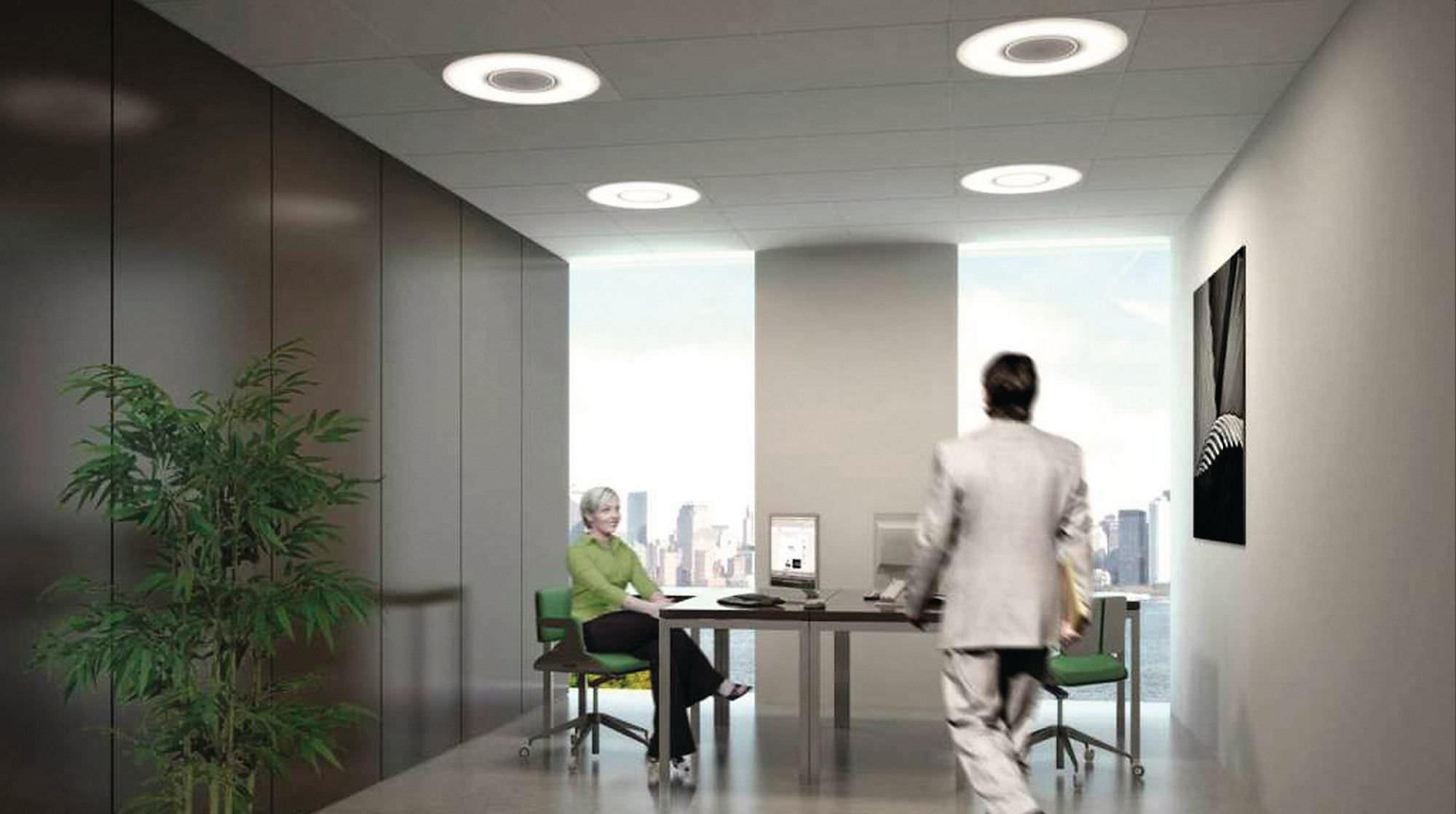 Светодиодные люстры для офиса