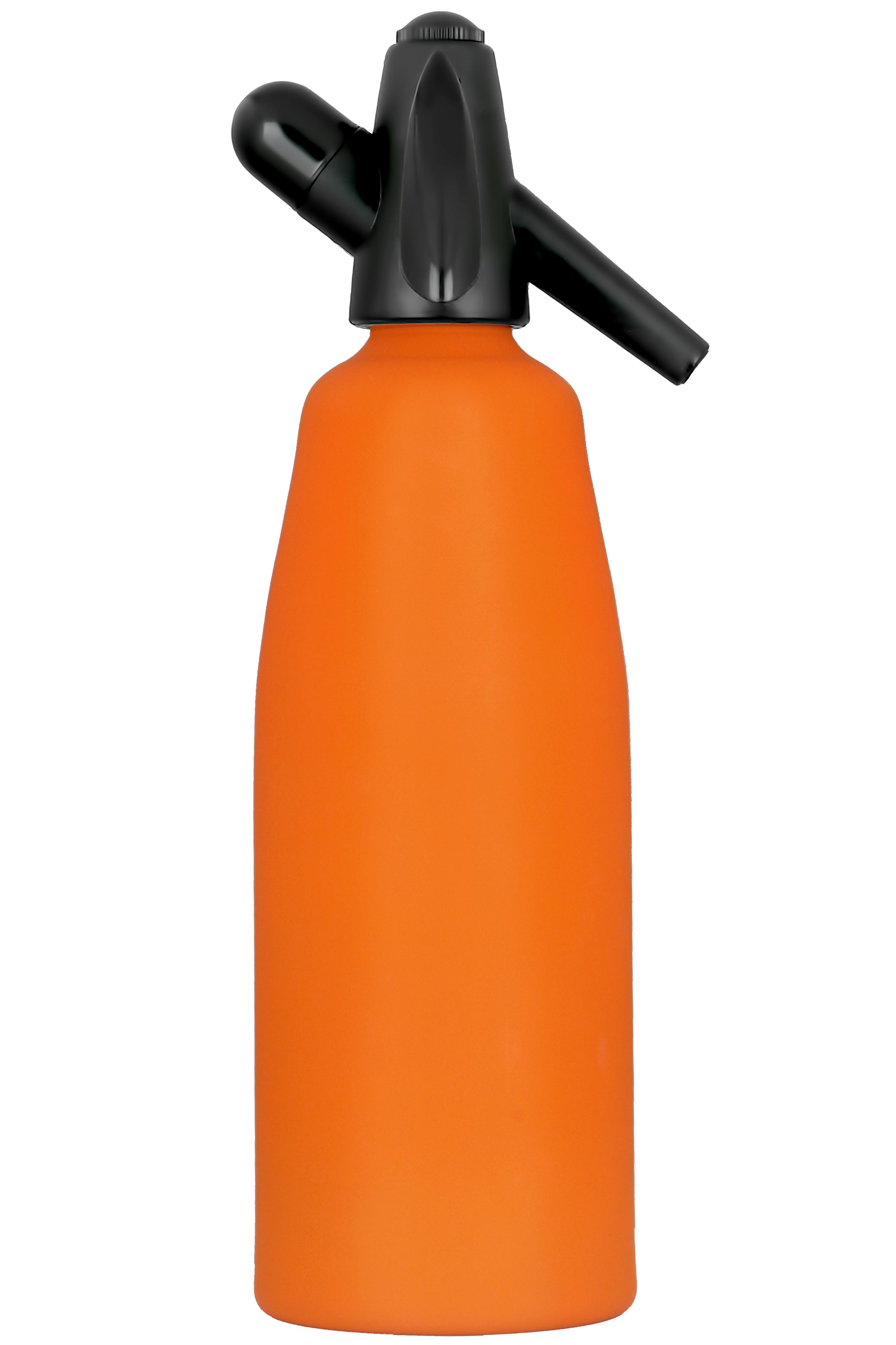 Сифон для газирования воды оранжевый