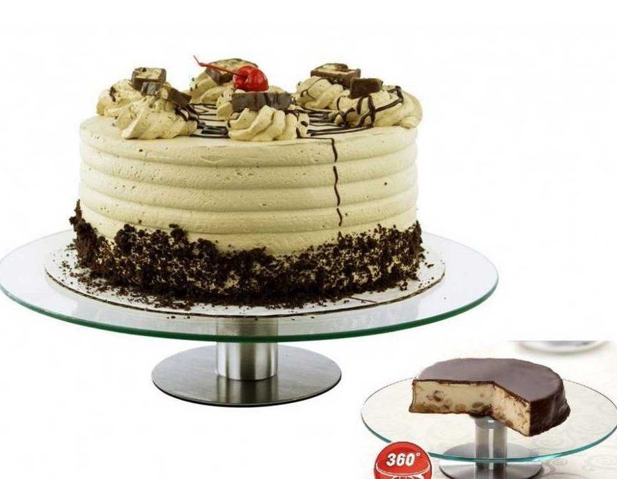 Вращающаяся подставка для торта пример