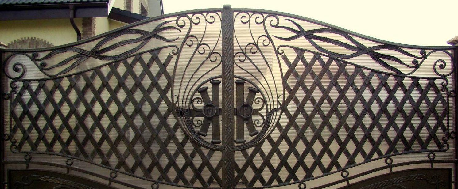 Художественная ковка ворота