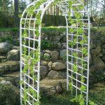Фото 61: Пластиковая пергола - арка