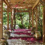 Фото 46: Деревянная пергола- туннель
