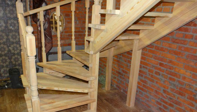 Поворотные лестницы на второй этаж своими руками видео
