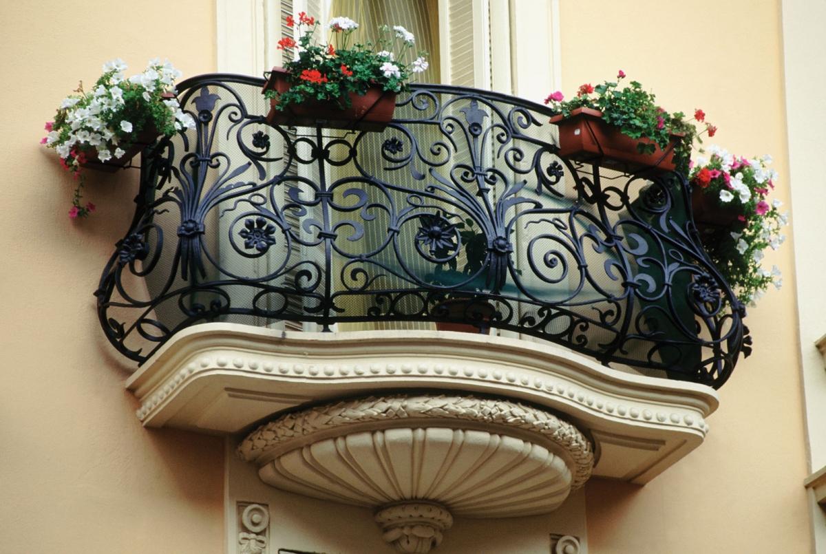 Художественная ковка балкон