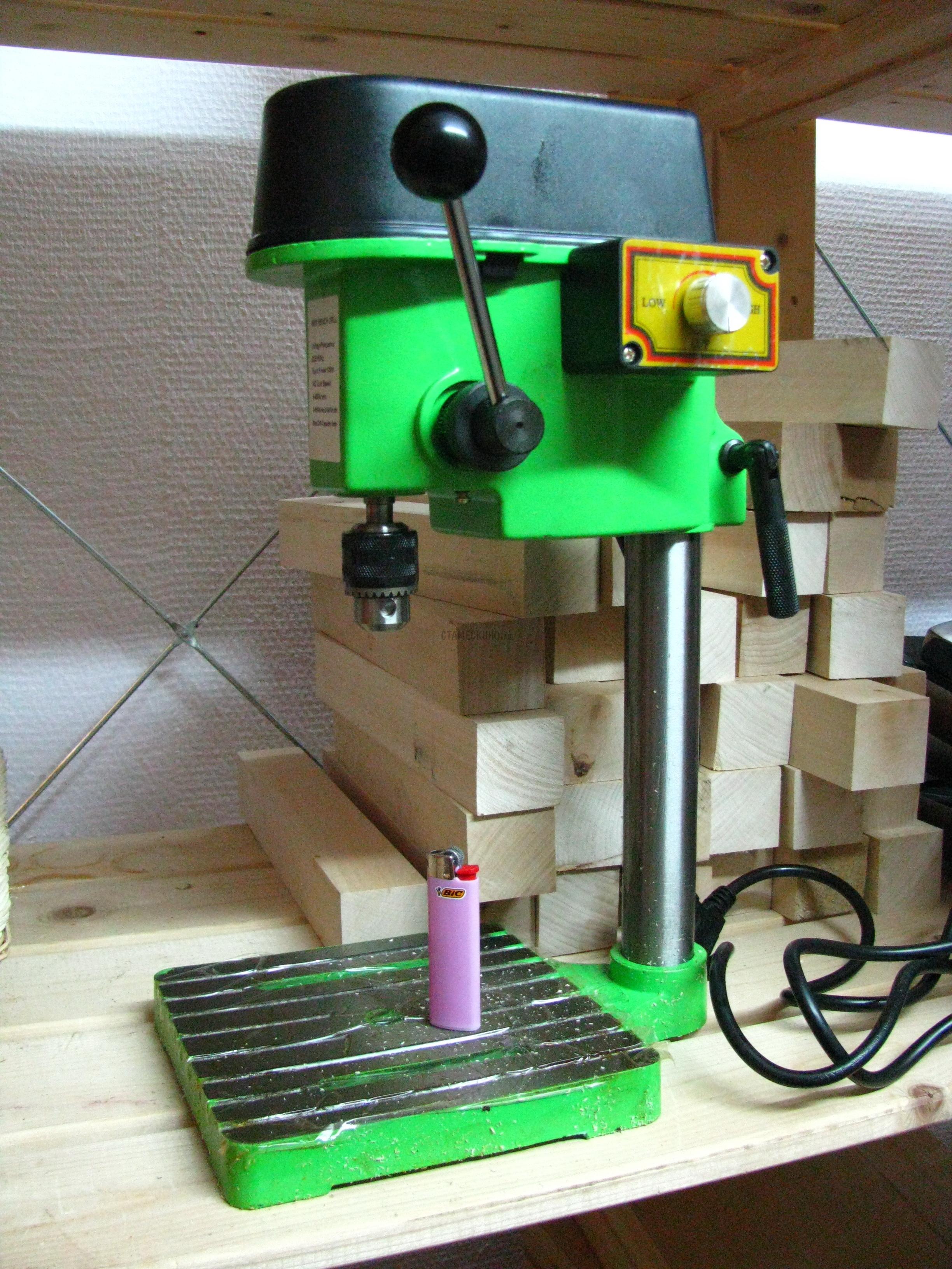 Сверлильный станок для мастерской