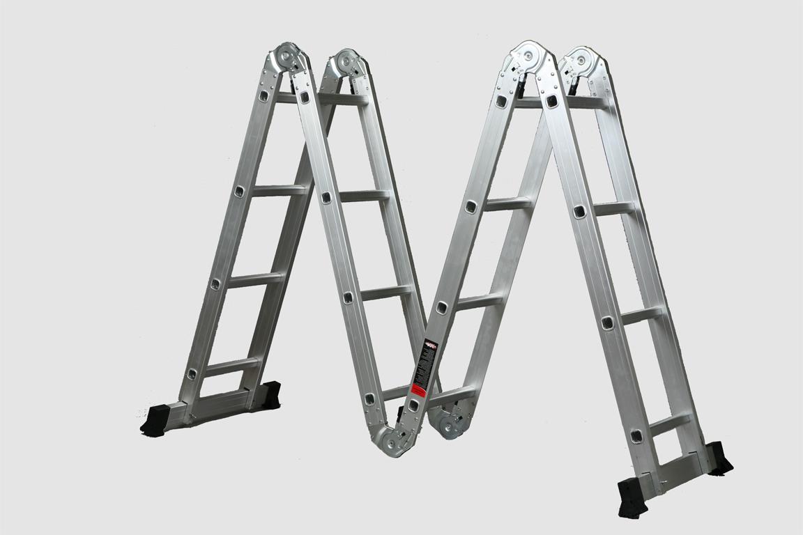 4 секции Складная лестница трансформер