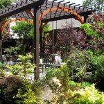 Фото 88: Выделение цветом арки перголы