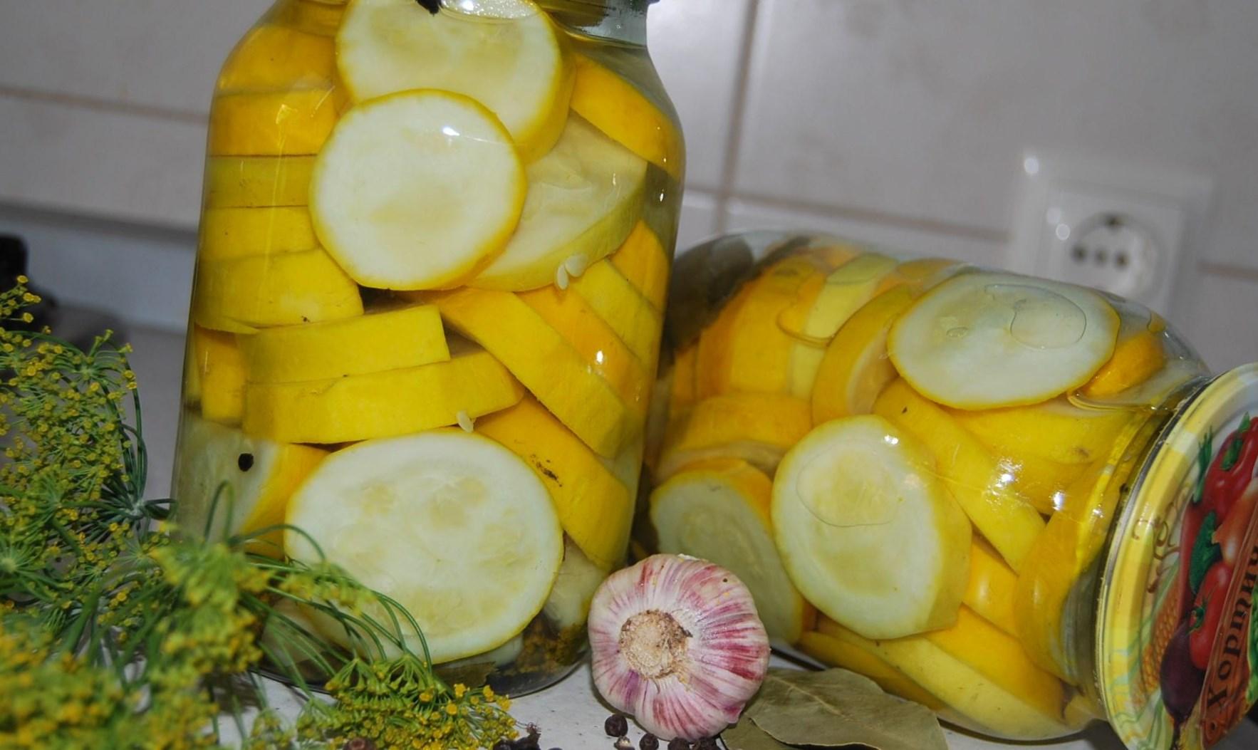 Желтые кабачки
