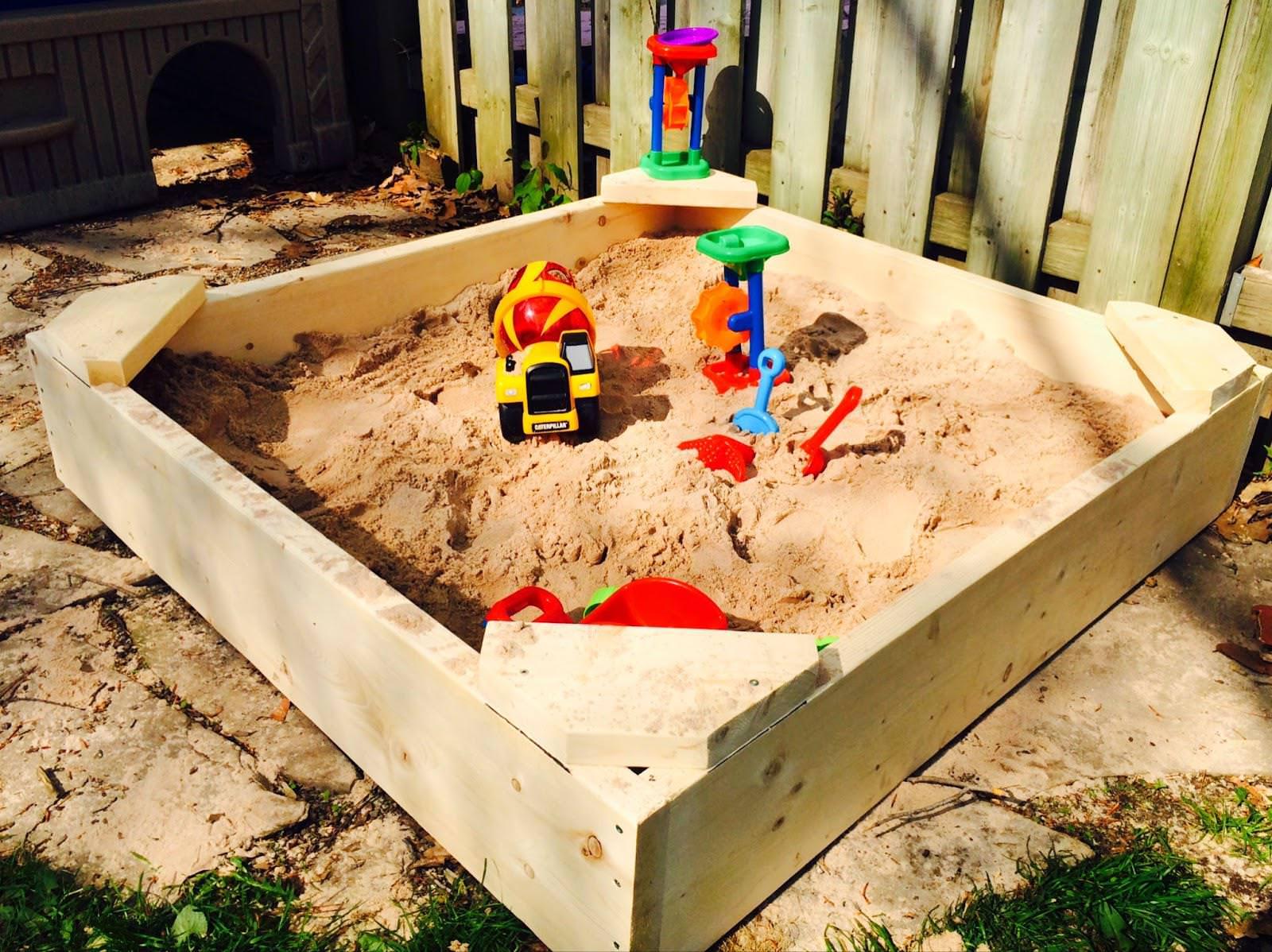 Детские песочники своими руками