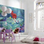 Фото 75: Фотообои в детскую комнату для девочек фото