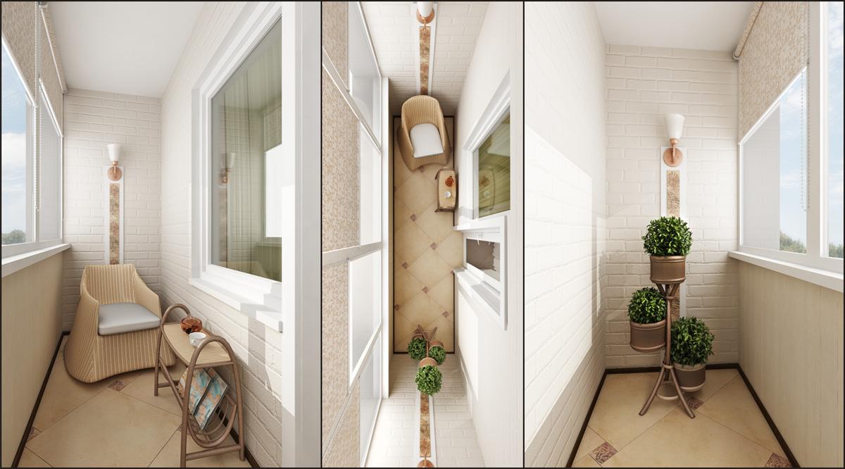 Балконы отделка внутри дизайн