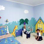 Фото 78: Фотообои детские в интерьере фото