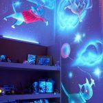 Фото 70: Подсветка фотообоев в детской ночью